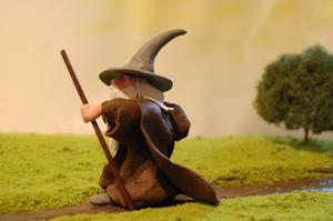 Gandalf the clay