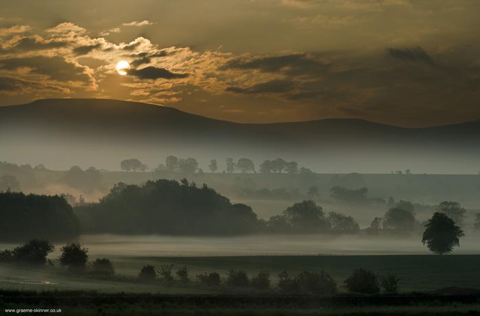 Morning mist....