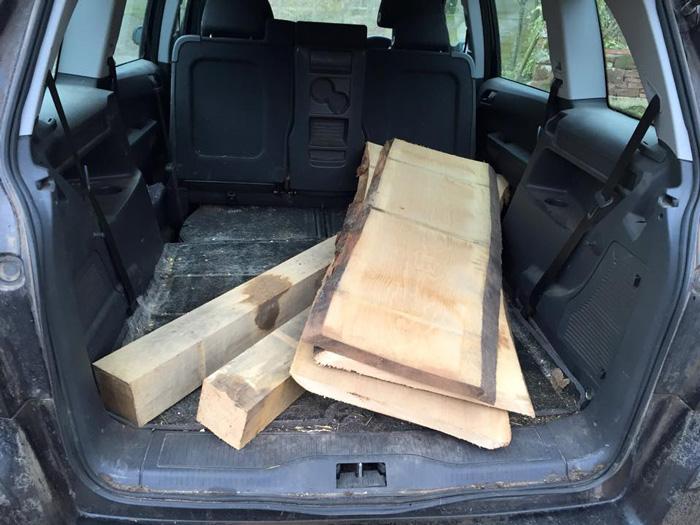 woodincar